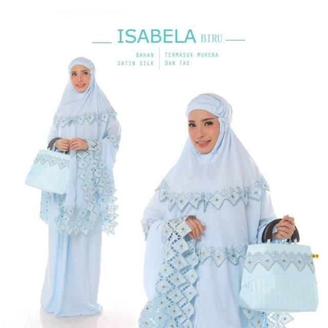 Women-Prayer-Salah-Clothes-Mukena-Khimar-Long-Hijab-Set-Skirt-amp-Hand-Bag-Isbla