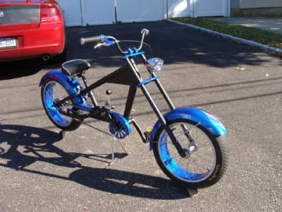 Custom Fatboy 3 Speed Chopper Bicycle Harley Schwinn