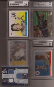 Huge Card Collection 1000+ Cards in Lot, Autos, Jersey, Numbered