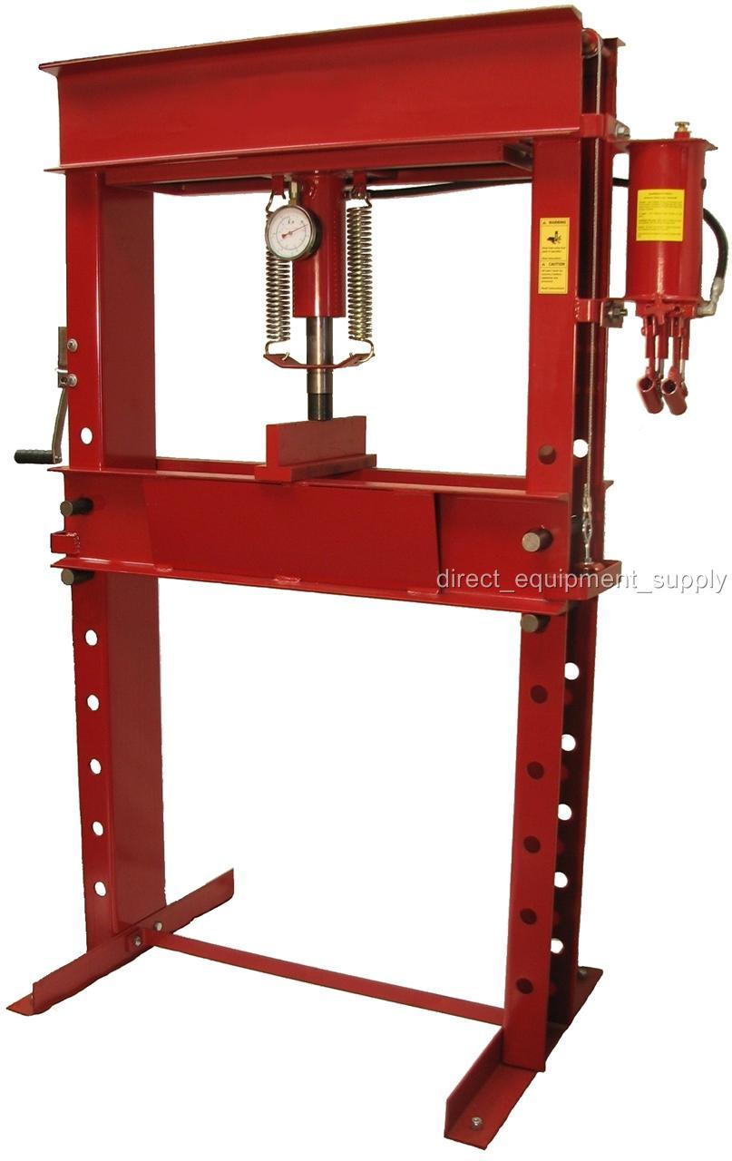 50 Ton Hydraulic 2sp P Amp R H Frame Shop Press Usa 100 150