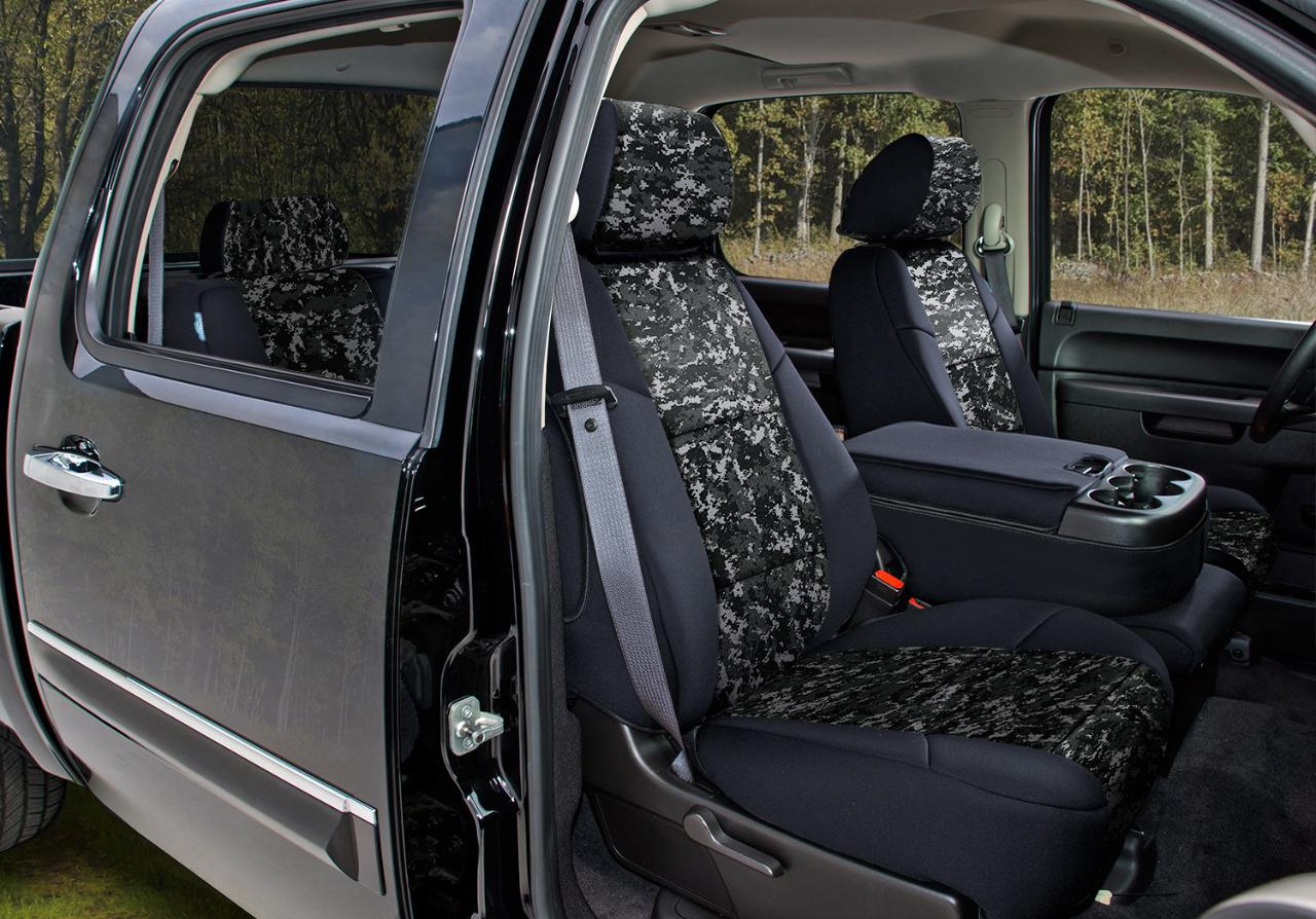 Digital Military Camo Custom Fit Seat Covers For Ford