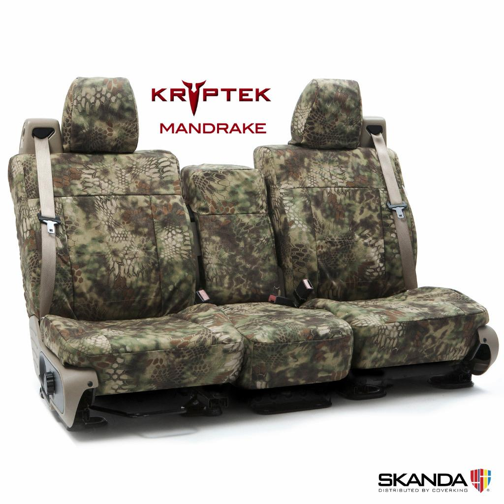 Coverking Kryptek Cordura Ballistic Tactical Seat Covers