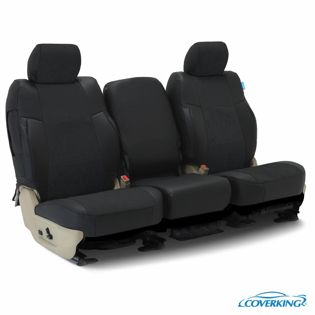 ALCANTARA SUEDE CUSTOM FIT SEAT COVERS for NISSAN PATHFINDER | eBay