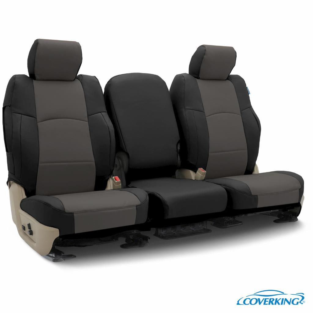 Black Leatherette Car Seat Covers