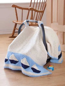 Infant Knitted Car Seat Covers Free Pattern