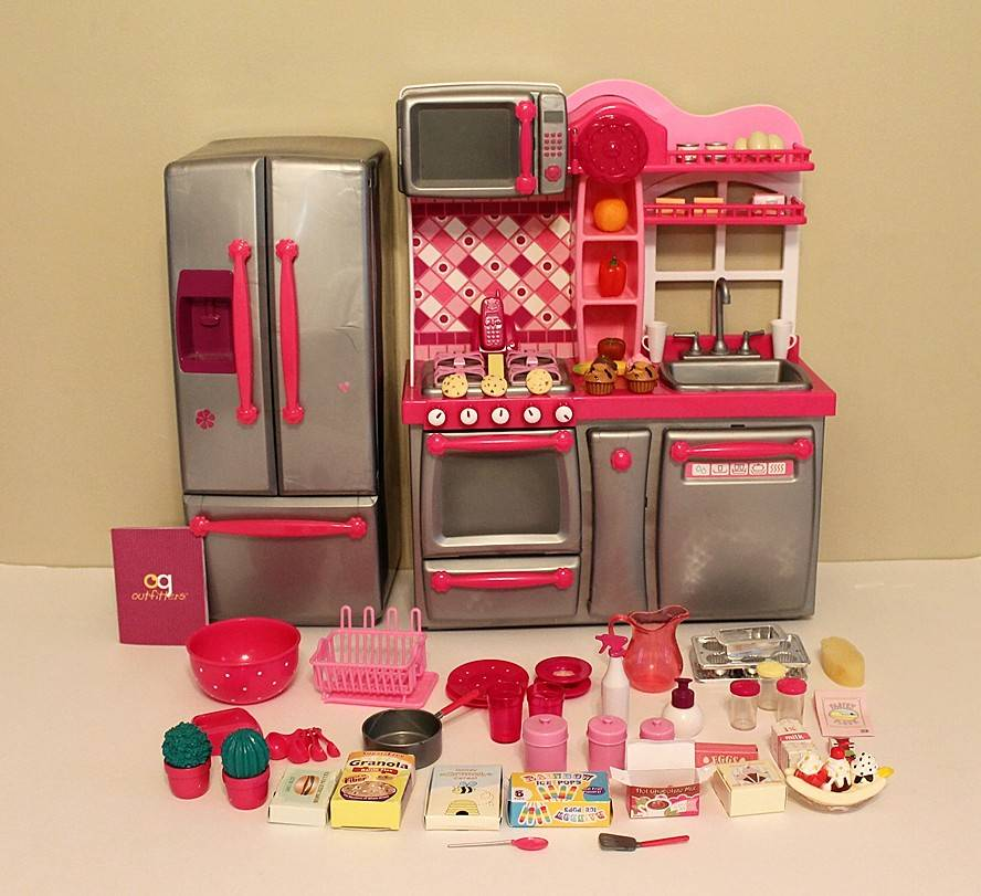 Our Generation Kitchen Set: Our Generation Kitchen Set Complete With Accessories EUC