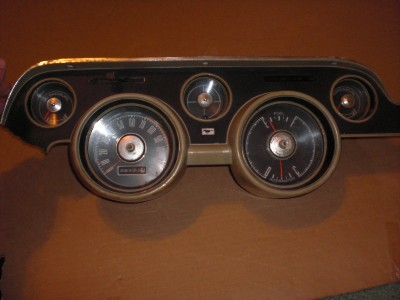 1967 1968 ford mustang speedometer and gauge cluster | ebay 1967 ford mustang ac heater wiring diagram #11