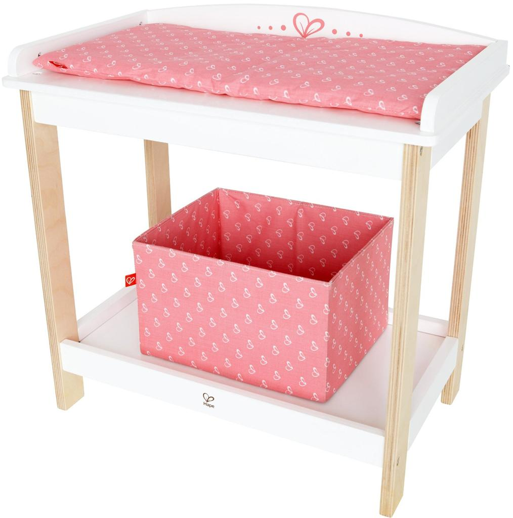 hape baby doll wooden changing table pretend parent play new dolls change table ebay. Black Bedroom Furniture Sets. Home Design Ideas