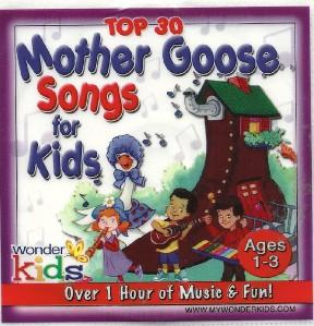 wonder kids top 30 mother goose songs for kids children sing along cd new ebay. Black Bedroom Furniture Sets. Home Design Ideas