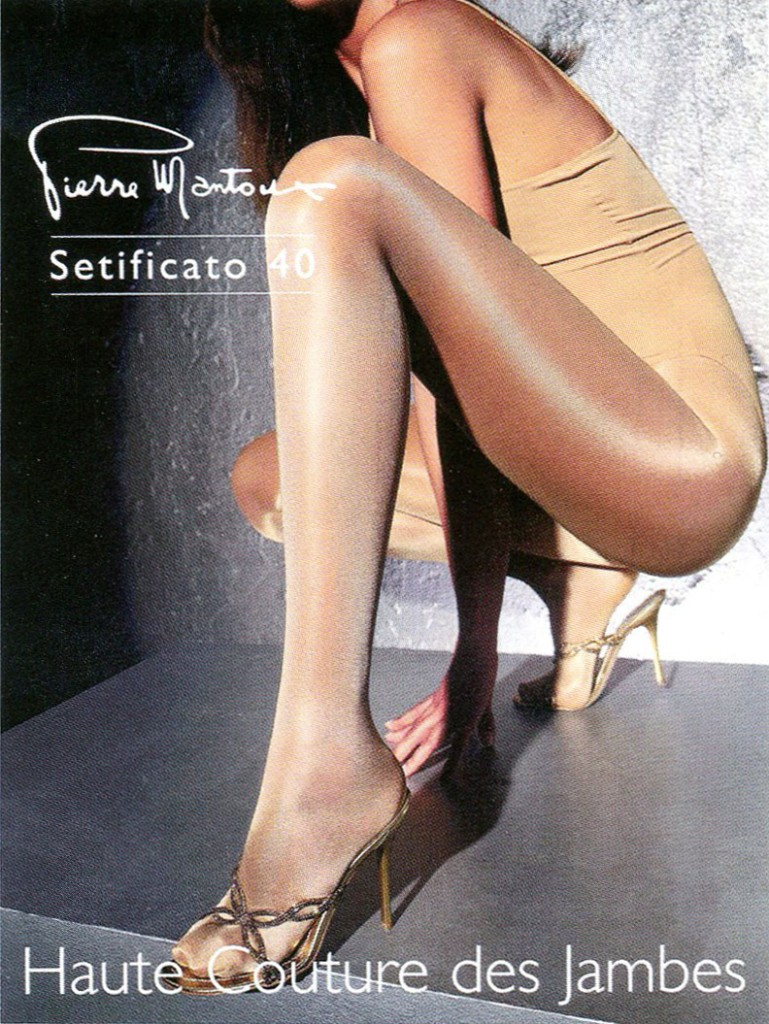 Shiny pantyhose tights