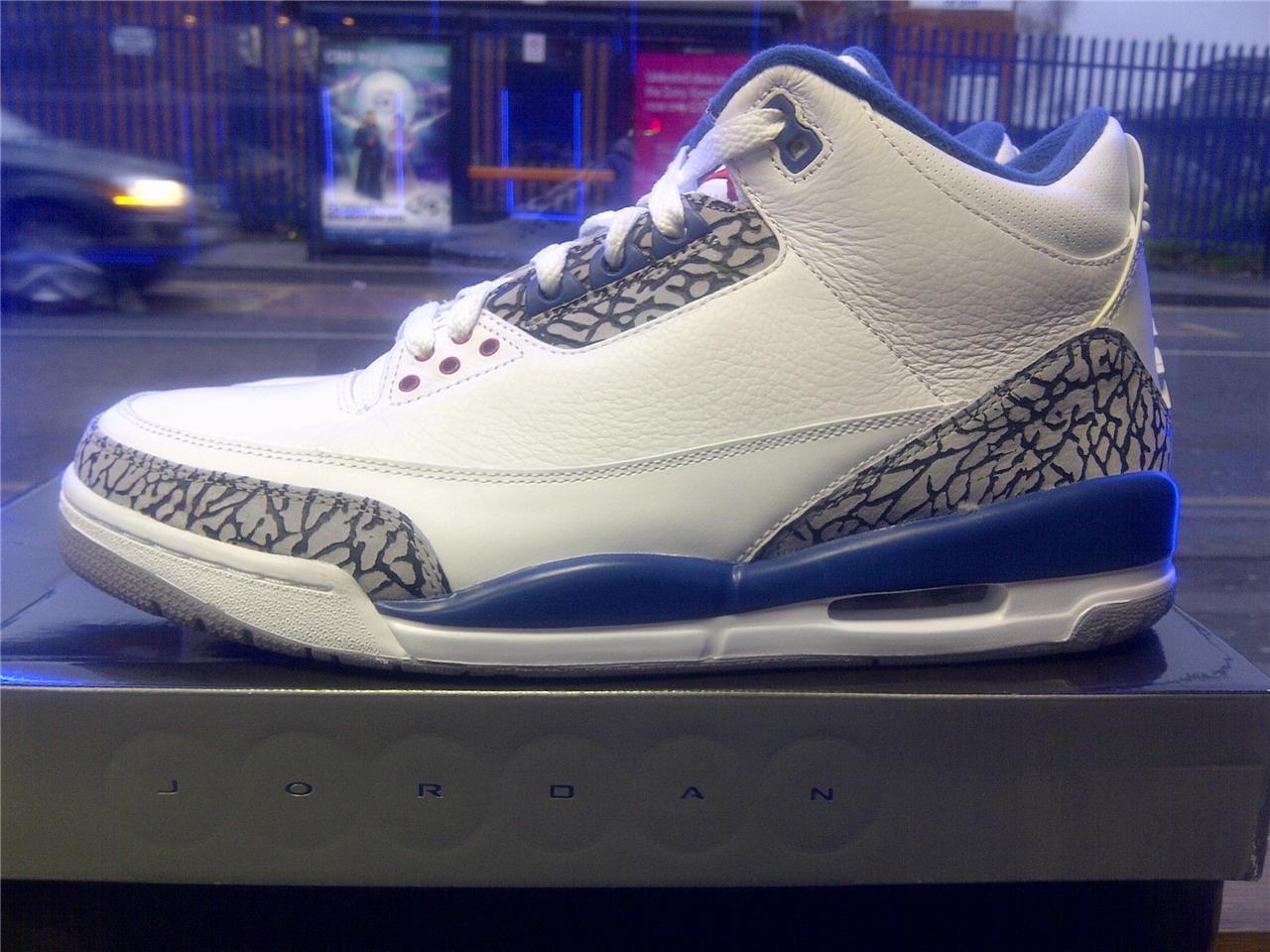 00a0072ce2a Air Jordan 3 True Blue Ebay Air Jordan 5 Retro Blue