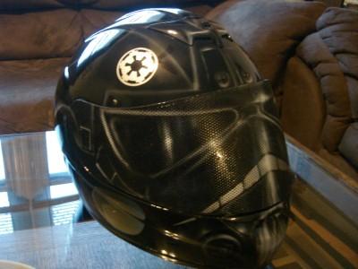 Custom Airbrushed Tie Fighter Z1r Helmet Ebay