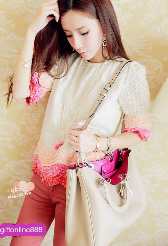 Bag-Cream(Change fashion bag) .
