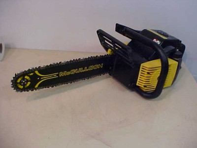 Mcculloch Eager beaver electric chainsaw parts Repair manual