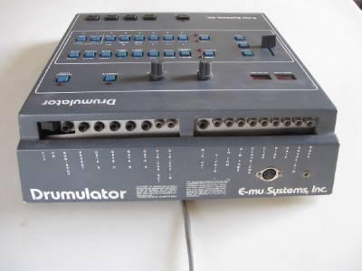 emulator e mu systems drumulator 1980 39 s drum machine model 7000 serial 1025 ebay. Black Bedroom Furniture Sets. Home Design Ideas