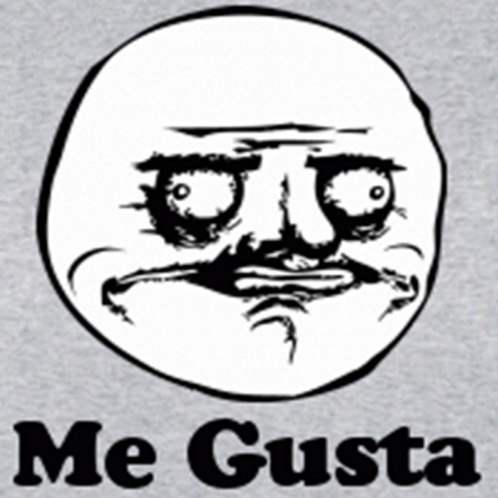 Meme Me Gusta Rage Troll Face Comics Viral Humor Funny T ...