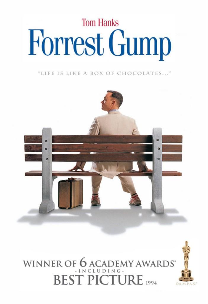 forrest gump 8x10 11x17 16x20 24x36 27x40 movie poster. Black Bedroom Furniture Sets. Home Design Ideas