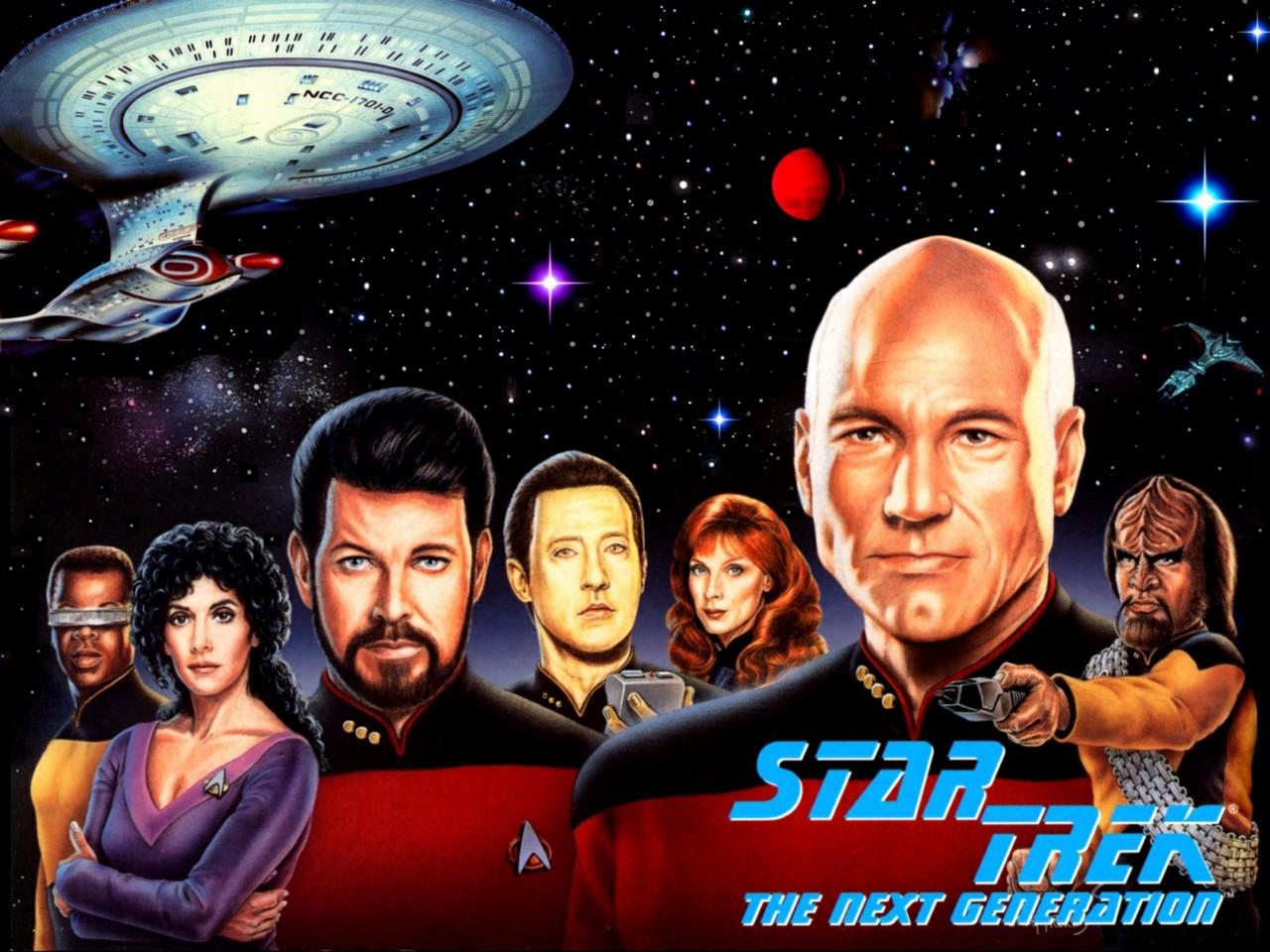 Star Trek The Next Generation 8x10 11x17 16x20