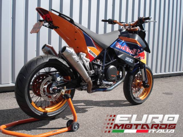 ktm 690 sm supermoto zard exhaust full 2 2 system with 2. Black Bedroom Furniture Sets. Home Design Ideas