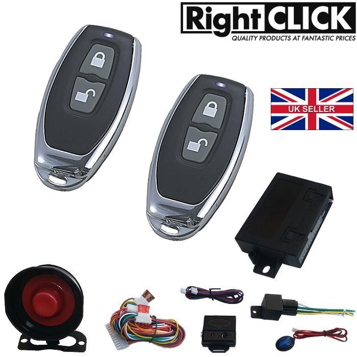 car alarm remote central lock immobiliser al698hc ebay. Black Bedroom Furniture Sets. Home Design Ideas