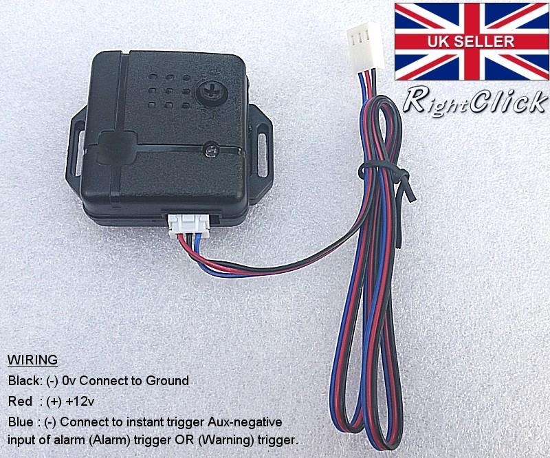 Nuovo Sistema di Sicurezza per Il Controllo remoto dellAllarme per Auto Universale 2 Kit per Il Blocco di Chiusura centralizzata per Porte con Chiave Sistema di Accesso Senza Chiave Nero