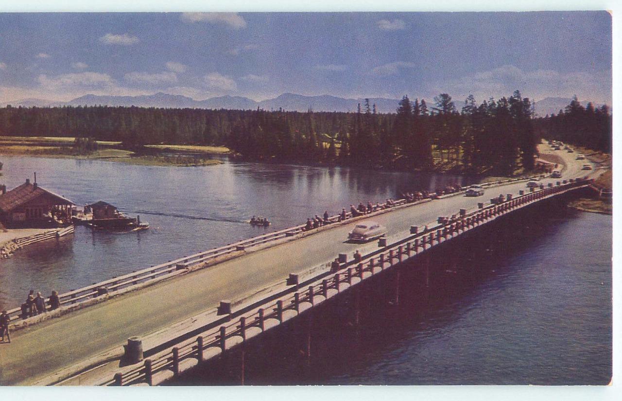 Cody, Wyoming, Fishing Bridge, Yellowstone Lake (CmiscWY32