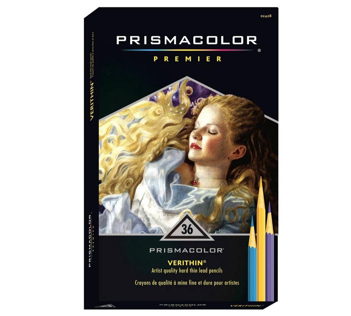 Black 2454 - 1PC 747 Prismacolor Verithin Colored Pencil