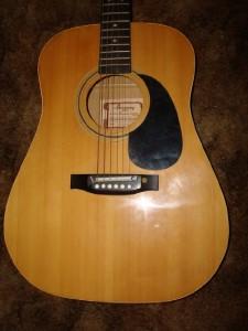 vintage harmony marquis h570hd acoustic ele guitar w peizo adj bridge rare ebay. Black Bedroom Furniture Sets. Home Design Ideas