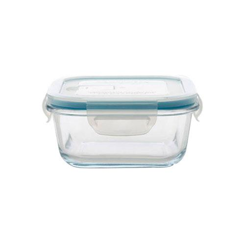 3x Maxwell & Williams Pyromax Glass Container With Clip