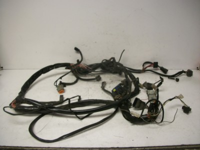 00 harley davidson flh touring flhpi police wiring harness ... harley davidson police wiring harness