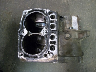 03 Polaris Sportsman 700 Engine Case Motor Block W4