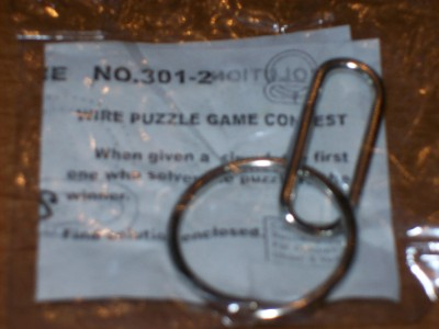 Wire Metal Puzzle Game Magic Trick Toy Party Gag Gift