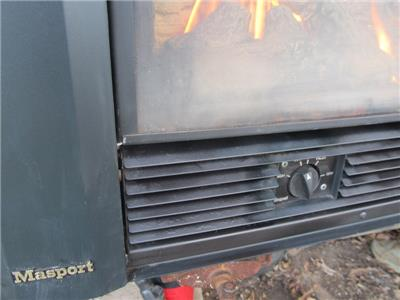 Masport Natural Gas Log Heater