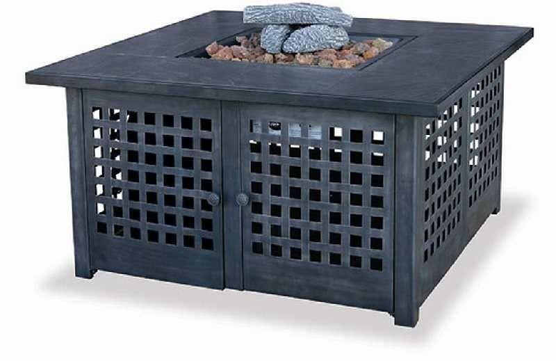 Uniflame Gad920sp Blue Rhino Lp Propane Table Top Fire Pit