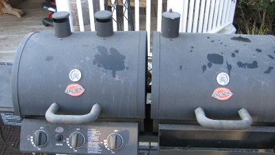 Chargriller Trio Bbq Smoker Gas Grill Charcoal Grill With