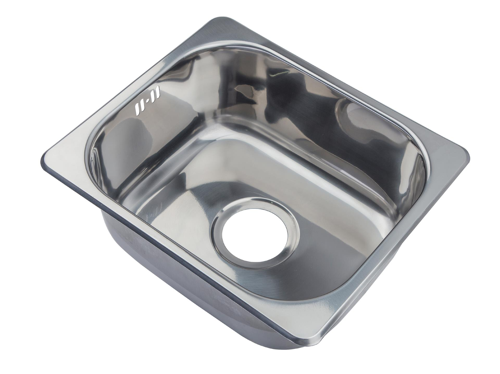 Small Top Mount Inset Stainless Steel Kitchen Sinks With Fittings Ebay