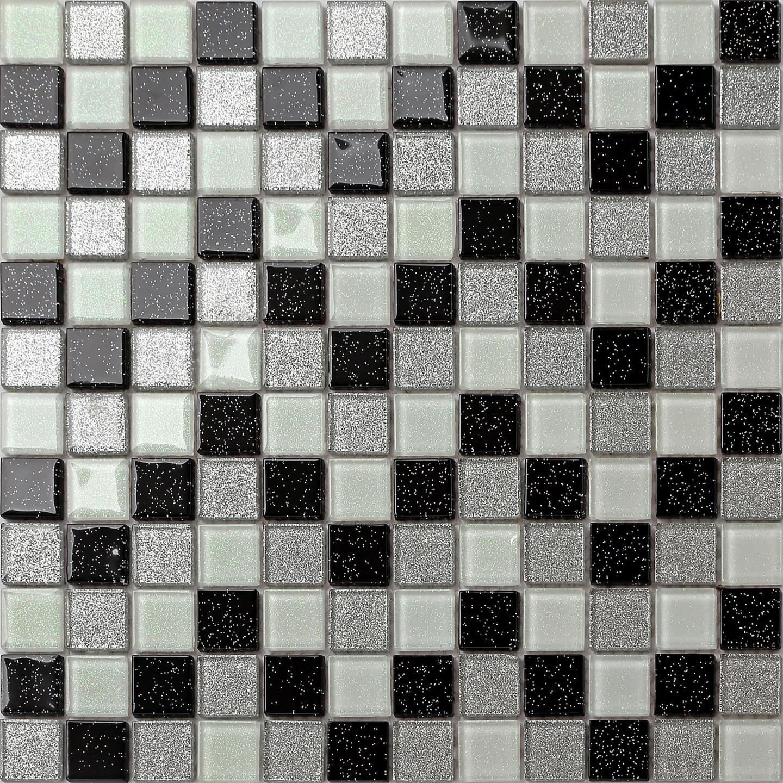 glas mosaik fliesen schwarz grau wei gr n pink lila braun. Black Bedroom Furniture Sets. Home Design Ideas