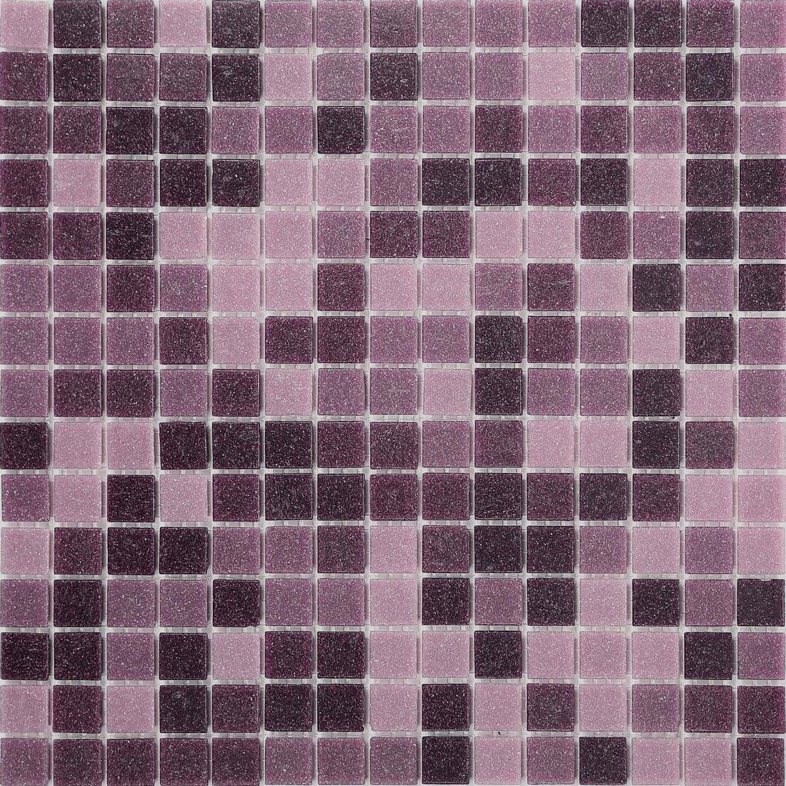 1qm mosaik wand fliesen matte glas lila pink bad dusche. Black Bedroom Furniture Sets. Home Design Ideas