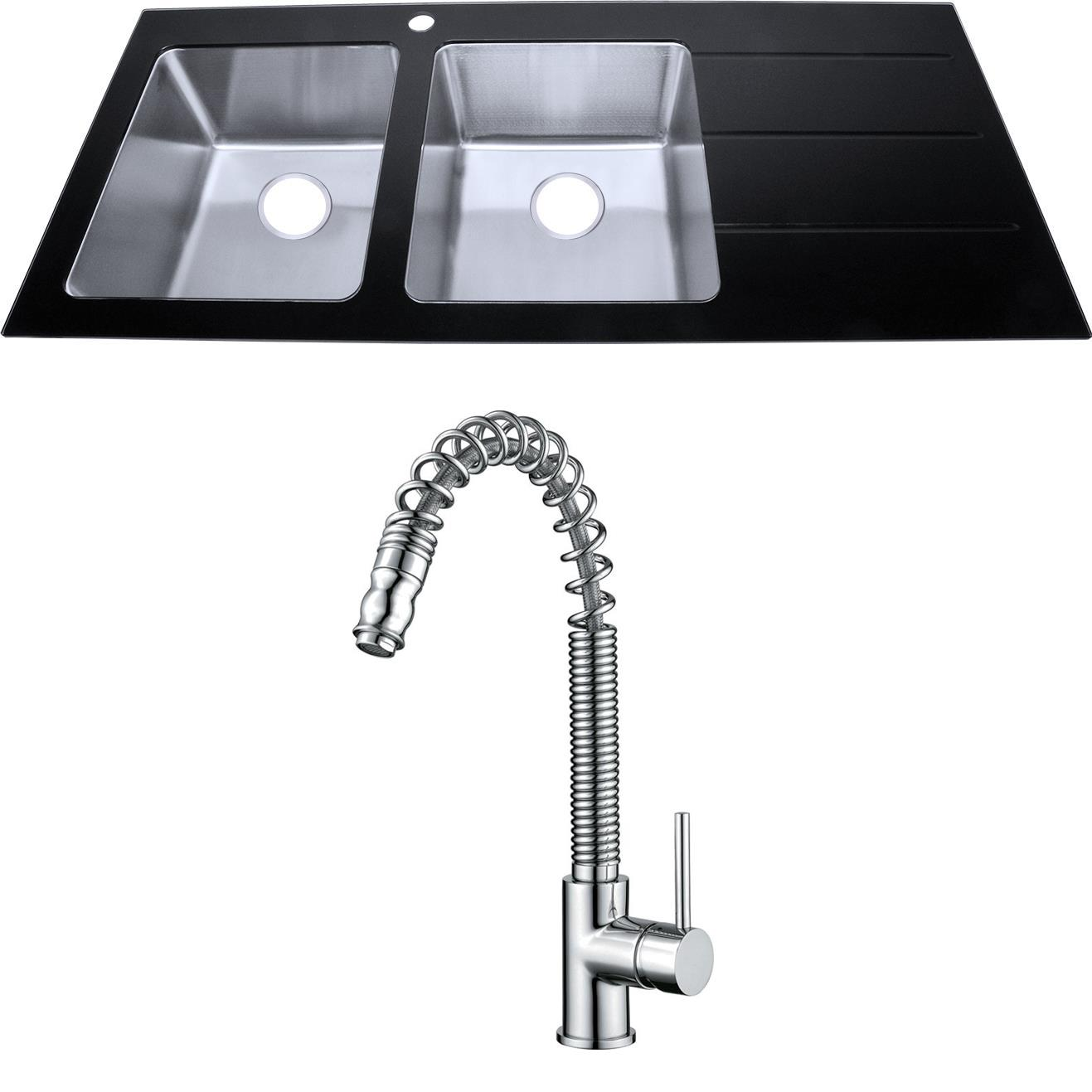 Kitchen Sink With Drainer Site Ebay Co Uk