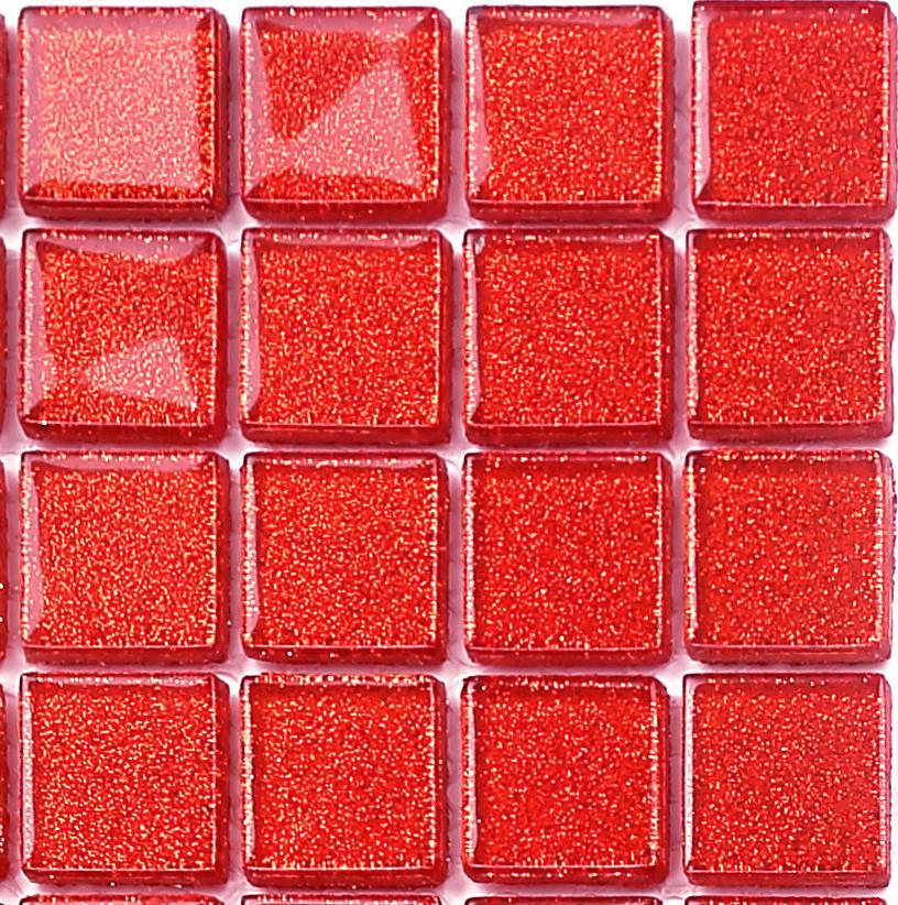 Sample red glitter mosaic tiles bathroom basin shower for Perfekt mosaik bordure