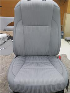 2014 2015 toyota highlander le factory oem cloth seat cover set gray. Black Bedroom Furniture Sets. Home Design Ideas