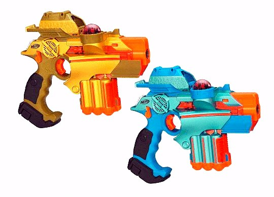 Nerf Lazer Tag Bonus Pinpoint Sight Attachments 2 Player