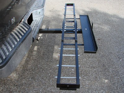 Steel Motorcycle Scooter Dirtbike Carrier Hauler Hitch