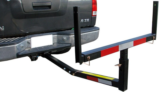 Pick Up Truck Bed Hitch Extender Extension Rack Ladder