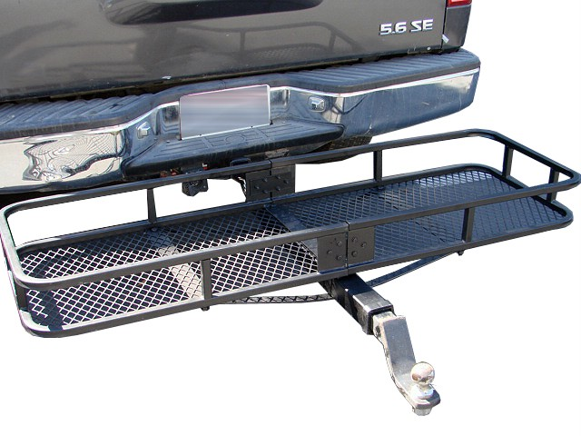 60x20 Quot Folding Cargo Carrier Basket Hitch Tow Receiver Ebay