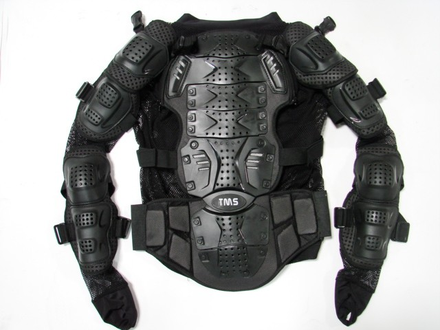 Motorcycle Full Body Armor Jacket Spine Chest Protection