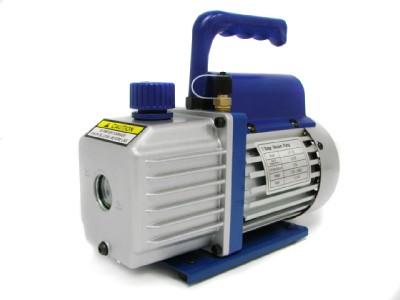 Stage Rotary Vane Vacuum Pump R410a R134 HVAC A/C Air Refrigerant