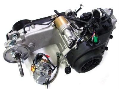 150CC GY6 SCOOTER ATV GO KART ENGINE MOTOR 150 CVT AUTO CARB PACKAGE