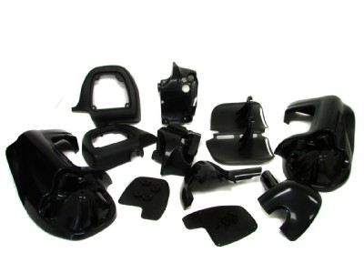 Lower Vented Leg Fairings Cap Glove Box For Harley Touring Electra