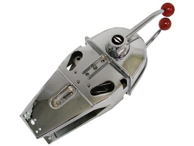 Chrome Marine Boat Engine Outboard Top Mount Dual Control ...